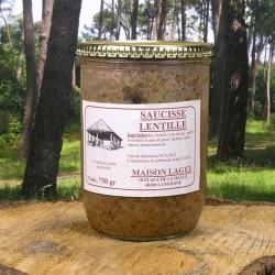 Saucisse Lentilles