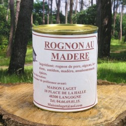 Rognon de porc au Madere