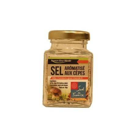 Sel aromatisé aux cèpes